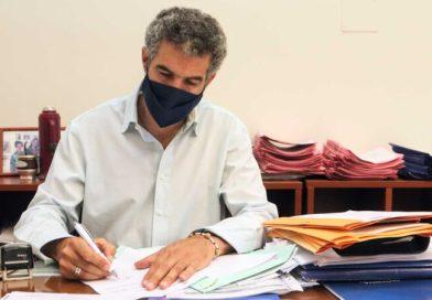 La provincia aprobó más de $10 millones para pavimento en Villa Minetti