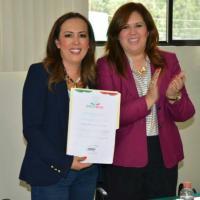 Nancy Espinoza es ratificada como Secretaria Ejecutiva del SESP