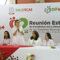 Unión de Buenas Voluntades por Encima de quienes no desean un Zacatecas en Paz: Cristina Rodríguez
