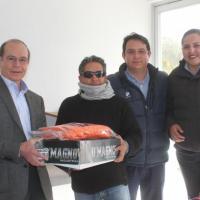 Minera Madero entrega equipo de Protección a JIAPAZ