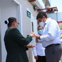Fresnillo cuenta con uno de los 8 hospitales COVID-19; alcalde pide nuevo Hospital IMSS ante demanda