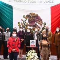 Diputados rinden Homenaje póstumo a Lidia Méndez Rangel