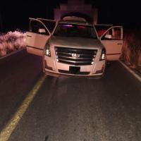 Atrapan estatales a 7 presuntos integrantes de grupo Delincuencial; detienen a agresor de Polis