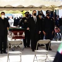 Homenaje Póstumo a comandante Estatal, Roberto Valdez