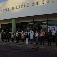 Arranca vacunación contra COVID-19 en Hospital Militar de Zacatecas