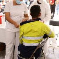 Vacunados miles de Jóvenes guadalupenses