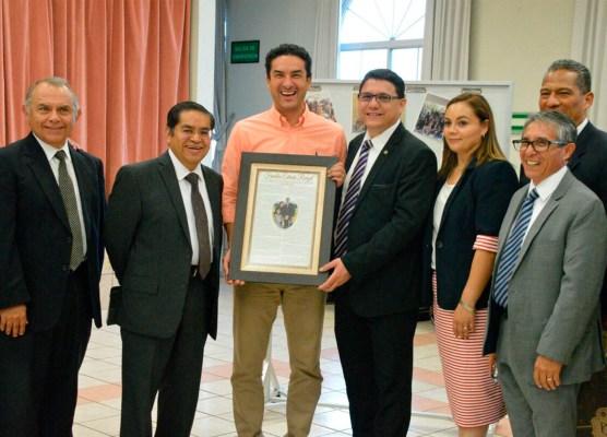 Representantes de la iglesia mormona en Izcalli celebraron reunión con el Presidente Municipal
