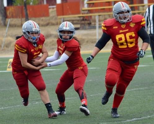 Dragones Rojos ganó su primer partido en la categoría femenil equipada
