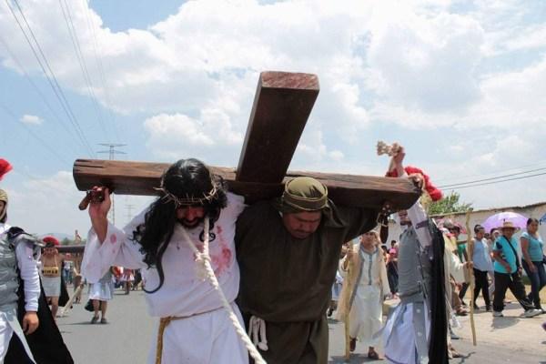 """Organizadores se reportan listos para la representación de """"La Pasión de Cristo"""""""