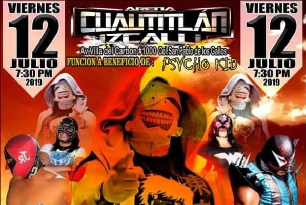 Regresan las batallas a la Arena de Cuautitlán Izcalli