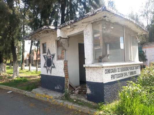 Trabaja Copaci para rehabilitar las casetas de vigilancia en Jardines del Alba