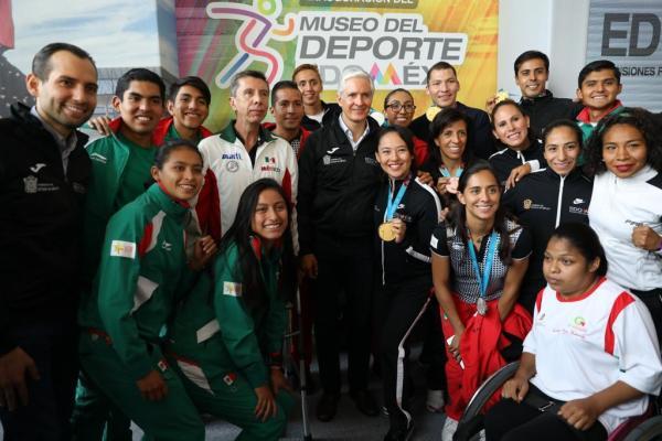 Inauguran Museo del Deporte Mexiquense