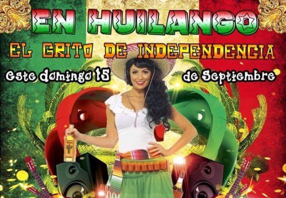 Invitan a participar en los festejos del mes patrio en Huilango
