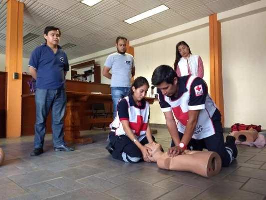 Impartió Delegación de la Cruz Roja capacitación a periodistas del estado