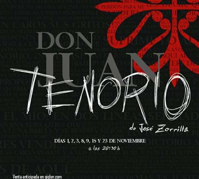 Cartel Don Juan Tenorio