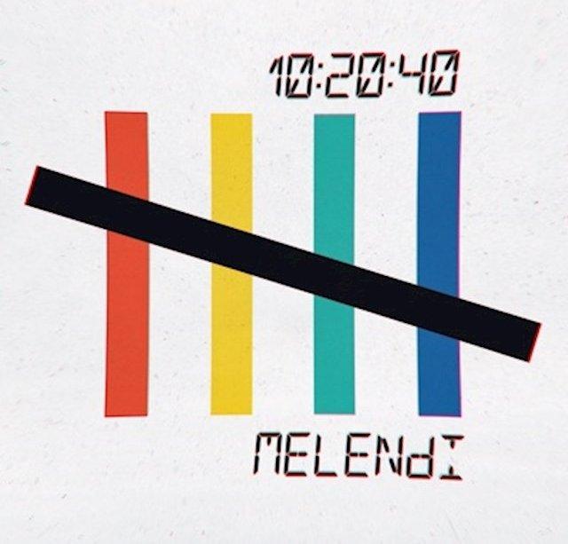 Portada del disco 10:20:40, publicada por Melendi en Instagram.