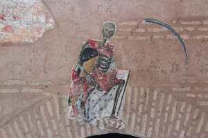 PACO CARO | Entrada a las catacumbas