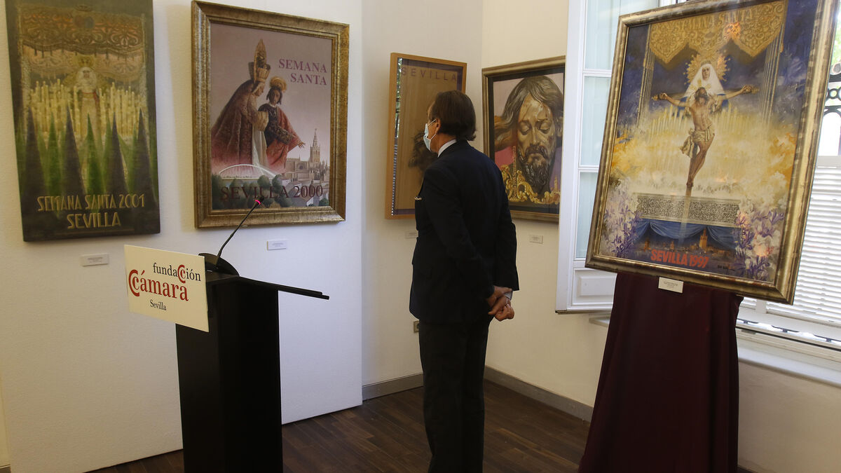 Carteles pictóricos de la Semana Santa de Sevilla