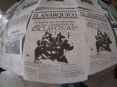El Anárquico en el Vto Encuentro del Libro y la Propaganda Anarquista.