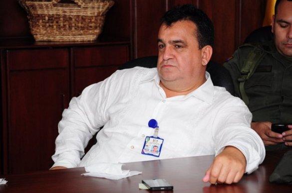 Alcalde de Pradera Adolfo Escobar particip de la reunin en Palmira en materia de seguridad