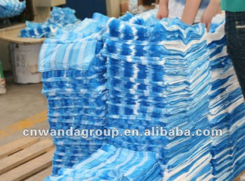 white_blue_striped_T_shirt_bags_of