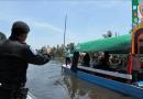 POLICÍA RIBEREÑA DE LA SSC PRESERVA LA VIGILANCIA EN CANALES DE LA CIUDAD DE MÉXICO