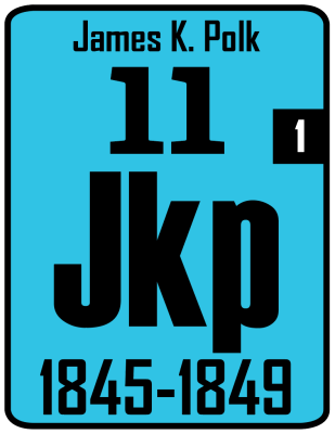 The Periodic Table of the Presidents - James K. Polk
