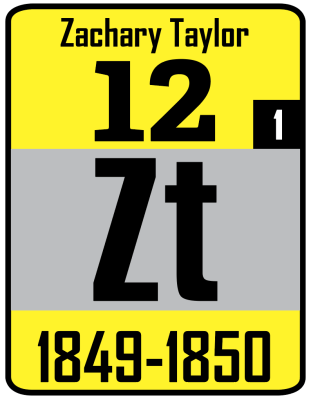 The Periodic Table of the Presidents - Zachary Taylor