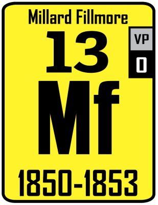 The Periodic Table of the Presidents - Millard Fillmore