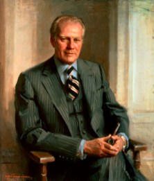 Gerald Ford Official Portrait - The Periodic Table of the Presidents