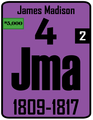 The Periodic Table of the Presidents - Jma