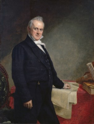 James Buchanan Official Portrait - The Periodic Table of the Presidents