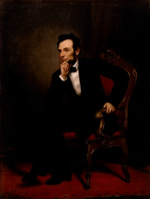 Abraham Lincoln Official Portrait - The Periodic Table of the Presidents