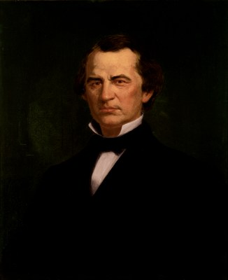 Andrew Johnson Official Portrait - The Periodic Table of the Presidents