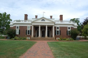 Monticello, East Front - Photo by PJ Creek