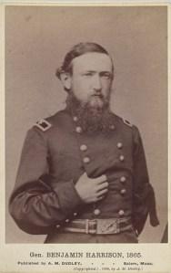 General Benjamin Harrison, 1865
