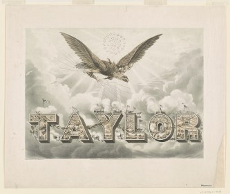 Taylor campaign poster - designed & drawn by Joseph G. Bruff, Washington, D.C., 1848 - Library of Congress