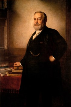 Benjamin Harrison Official Portrait - The Periodic Table of the Presidents