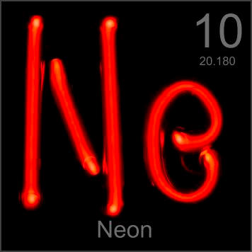 10 neon ne elements4kids its symbol the symbol for neon on the periodic table urtaz Choice Image