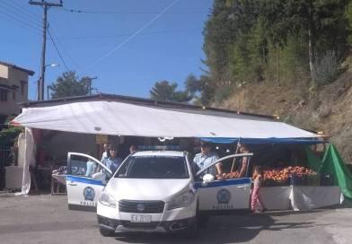 Αστυνομικοί της Παραμυθιάς στο Λάμποβο