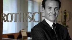 El presidente entrante de Rothschild opta por su presencia en EEUU