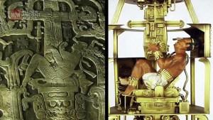 """Hallan """"antiguo cohete"""" debajo de la tumba de Pakal"""