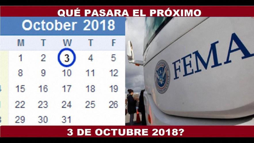 ¿Qué pasará el próximo 3 de Octubre?