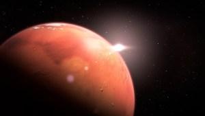 El Curiosity halla signos de microorganismos vivos en la atmósfera de Marte