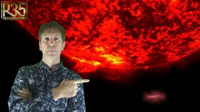 Algo gigante ha salido del Sol y podría ser una nave