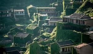 El misterioso pueblo chino que desapareció de la noche a la mañana