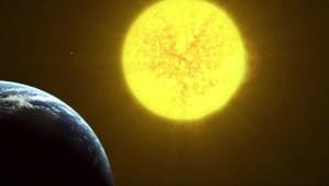 """Esta animación muestra cómo el Sol """"devorará"""" a la Tierra al final de su vida"""