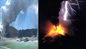 ¿Coincidencia? 109,000 rayos caen sobre Nueva Zelanda un día antes de la erupción volcánica
