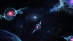 Astrónomos encuentran cuatro objetos desconocidos en el centro de la Vía Láctea