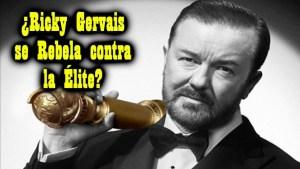 El extraño discurso de Ricky Gervais
